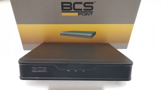 Nowy BCS-P-NVR1601-4K-II Rejestrator cyfrowy IP 16-kanałowy H265+ 4K