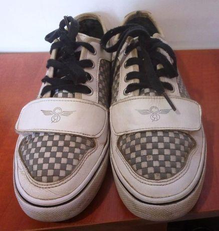 Мужские кожаные кроссовки / кеды Creative Recreation, р.38-38,5 m4083