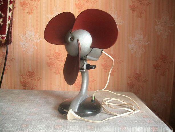 Вентилятор настольный ВЭ-1. Сделан в СССР