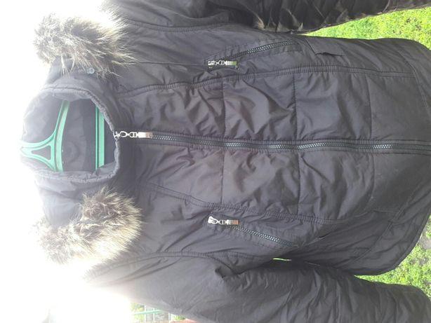 куртка чорная Х L