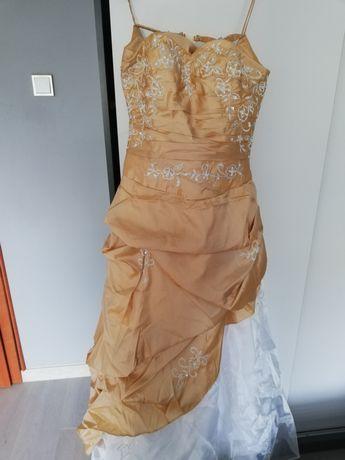 Suknia ślubna balowa