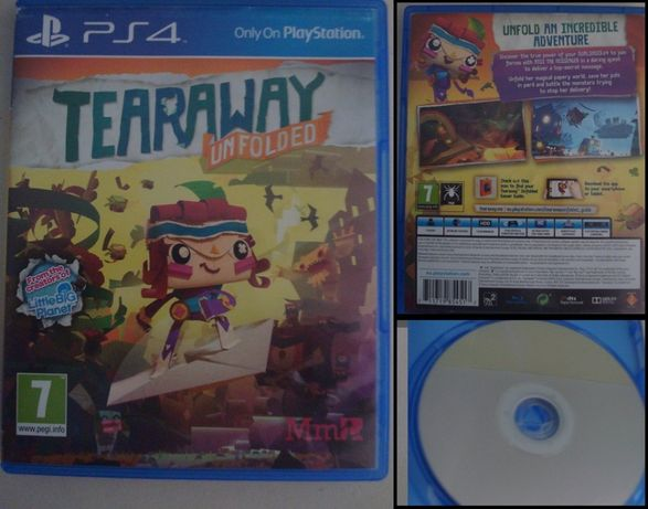 Tearaway Unfolded - Jogo PS4 (vendo ou troco)