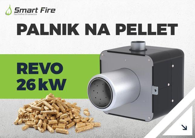 palnik pellas x podajnik pelletowy z zapalarką żeliwna komora REVO
