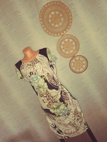 Letnia sukienka wielokolorowa