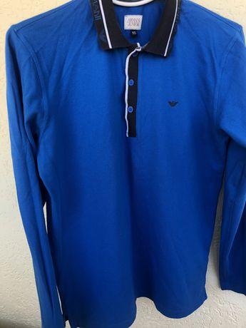 Мужская футболка с длинным рукавом Armani Junior 175 см