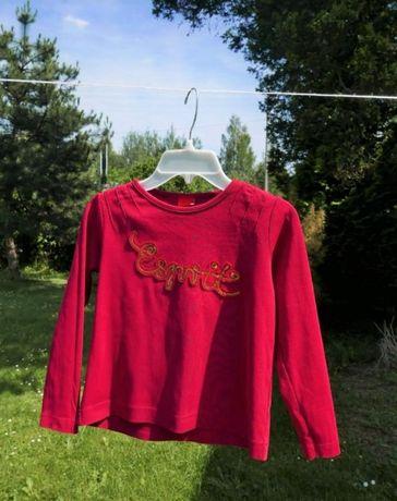 Czerwona bluzka ESPRIT rozm. 128/134 (8-9 lat)
