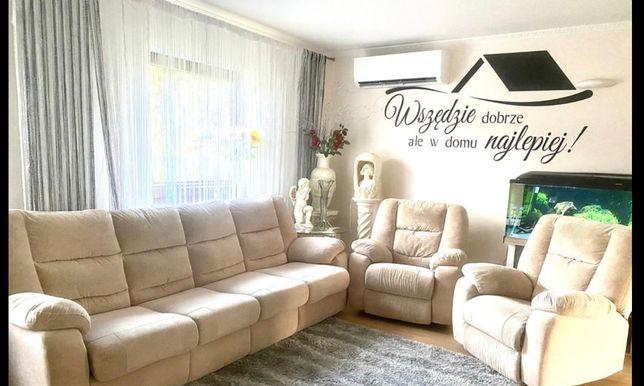 Sofa i dwa fotele