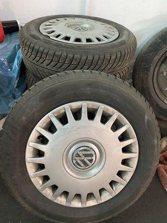 Kola+opony r15 VW zimowe