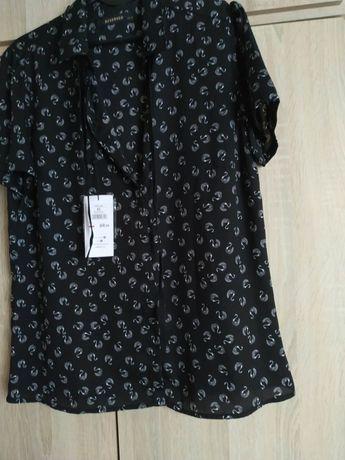 Nowa elegancka bluzka Reserved 40 w łabędzie