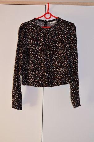 Bluzka koszula bershka floral