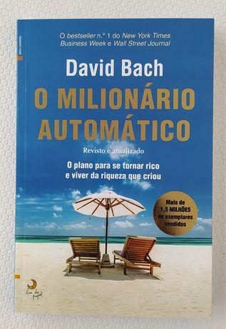 Livro O milionário automático, completamente novo, custou 16,50€