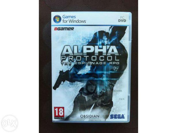Jogo alpha protocol (pc, novo e ainda selado)
