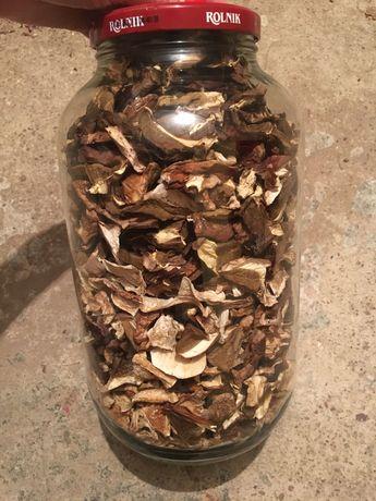 Suszone grzyby borowik - prawdziwki