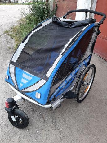 Dwuosobowa przyczepka rowerowa Qeridoo sportrex