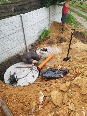 Выкопать колодец,канализацию.Чистка колодца.Копка колодцев,Канализации