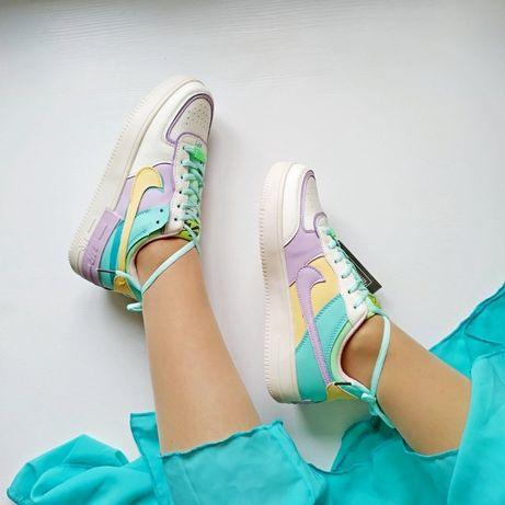 ХИТ 2020! распродажа женские кроссовки Nike air Force 1 Shadow