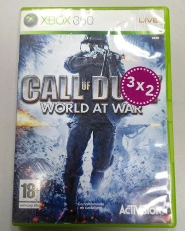 Gra Xbox 360 Call of Duty World at War LOMBARD66