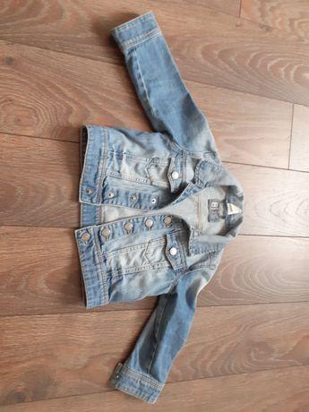Kurtka jeans dla dziewczynki HM rozmiar 86