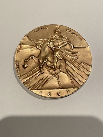 Medal Odsiecz Wiedeńska 1983. Mennica Państwowa
