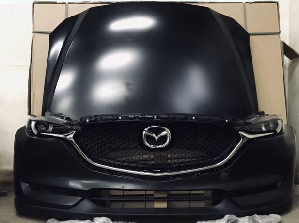 Фара MAZDA CX 5 2018 бампер Мазда 5 капот