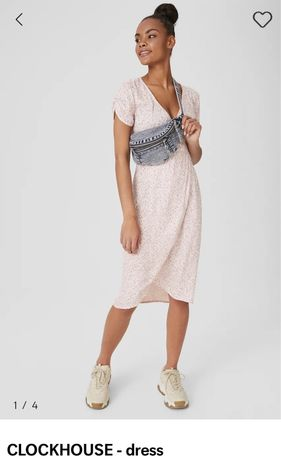 Vestido fresco verão novo com etiqueta rosa floral tam 44