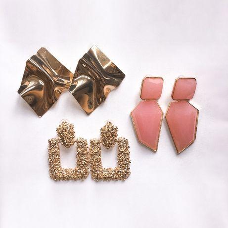 Серьги, сережки Zara, бижутерия