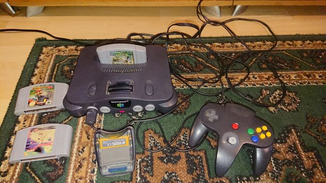 Nintendo 64 + gry