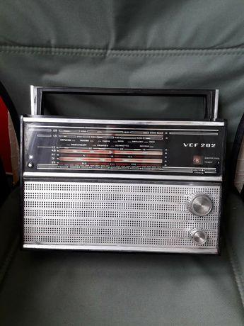 Радиоприёмник VEF-202, СССР, с документами