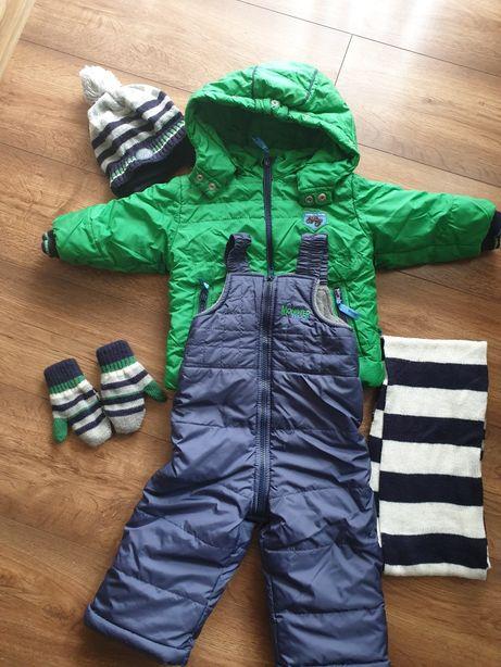 Zestaw zimowy wójcik kurtka spodnie 80 j. Coccodrillo
