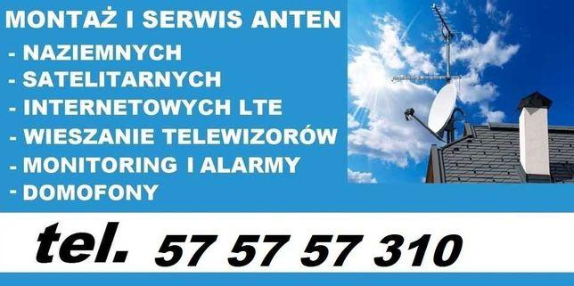 Ustawianie anten satelitarnych i naziemnych. Darmowa wycena. DVB-T.