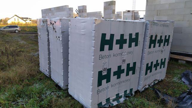 Bloczki H+H 625x240x249 tlmb 500 PWU