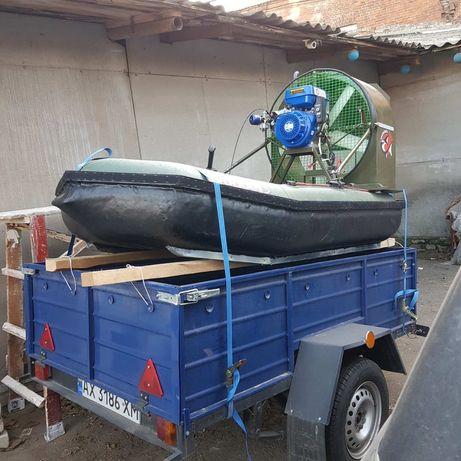 Аэроглиссер - лодка на воздушной подушке