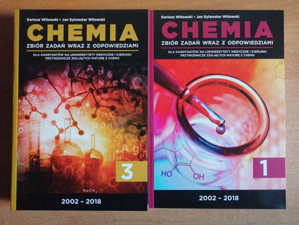 NOWE. Chemia zbiór zadań z odpowiedziami, Witowski