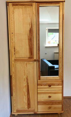 Komplet drewninych mebli do sypialni, pokoju dziecka