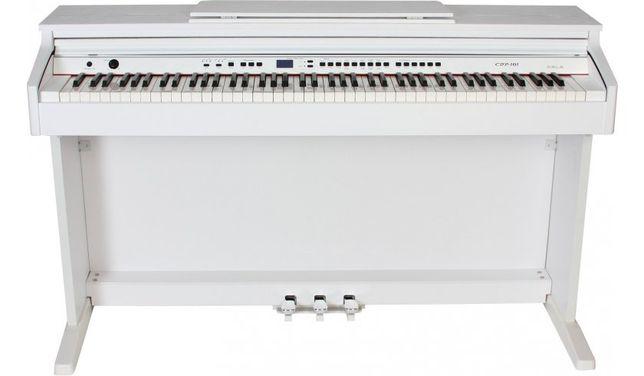 Pianino cyfrowe ORLA CDP 101 WH Biały Mat z modułem BT