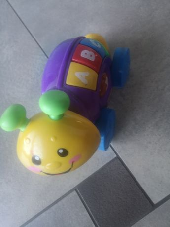 Ślimak Fisher price zabawka gra