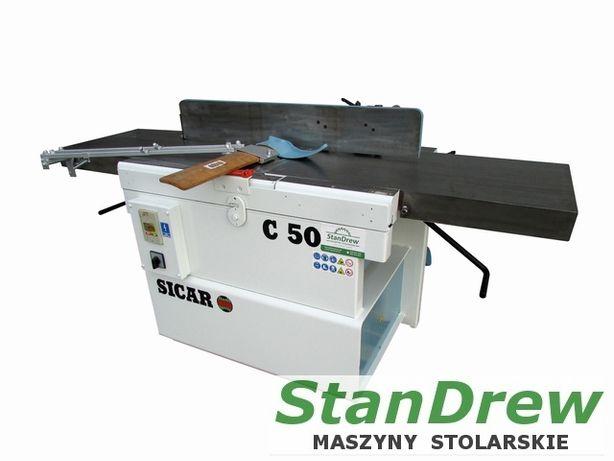Grubościówka wyrówniarka strugarka SICAR C 50 regulowane blaty, 4 kW