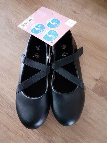 Czarne buty 33 dziewczynka