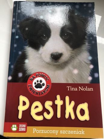 Pestka Porzucony szczeniak Tina Nolan książka nowa