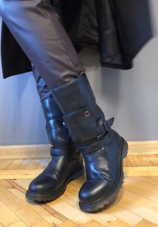 Сапоги Fornarina кожаные