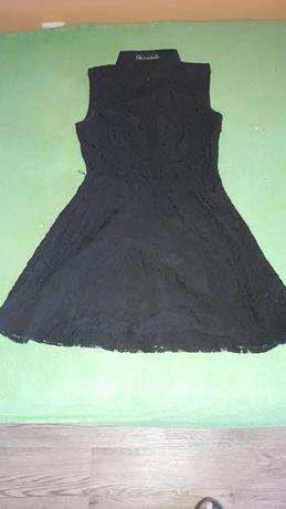 Sukienka czarna koronka Mela loves London rozmiar 38