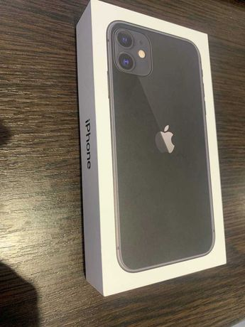 IPhone 11, Black, 64gb