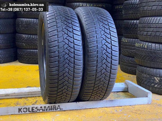 205/60 R16 Dunlop, 6,1 мм, шины зима, 2 шт, 2018 (195/215/55/65)