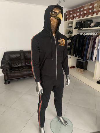 Мужской спортивный костюм Gucci Чоловічий спортивний костюм гучі