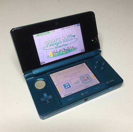 Nintendo 3DS Azul Aqua como nova