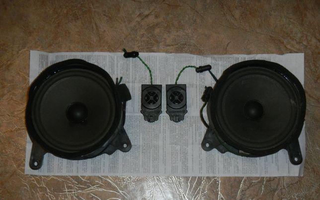 Оригинальные динамики NOKIA Мерседес W210 передние двери+пищалки
