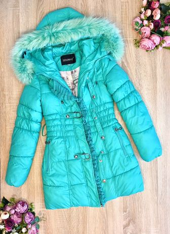 Пальто+кофта на 9-10лет. Пальто зима 134см. Зимнее пальто на 9-10лет.