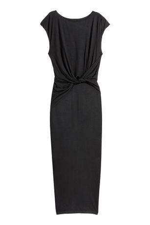 H&M sukienka tuba węzeł