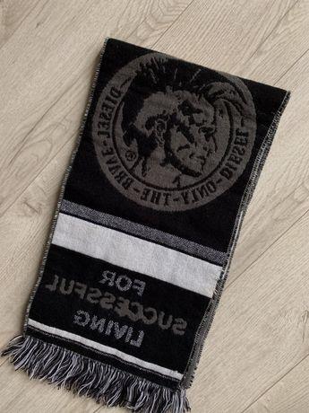 Diesel темный шарф hugo boss lacoste