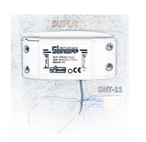 Supla na Sonoff z czujnikiem temperatury i wilgotności DHT11